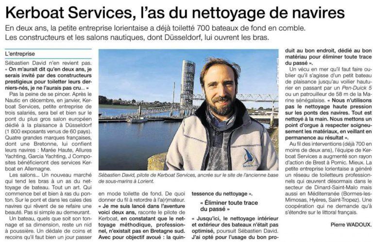 Kerboat Services l'as du nettoyage de navires
