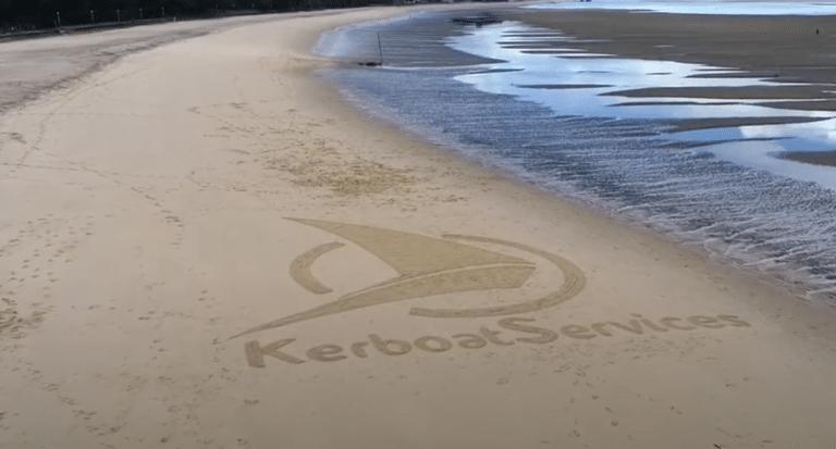 Une oeuvre de Beach'Art pour Kerboat Services !