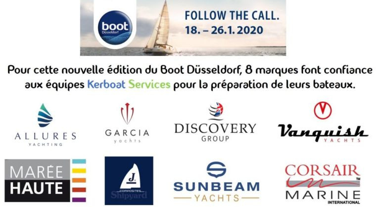Kerboat Services au Boot Dusseldorf