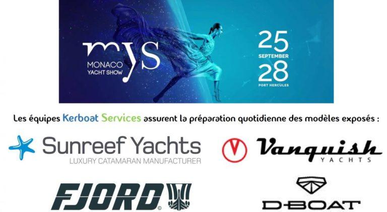 Kerboat Services au Monaco Yacht Show