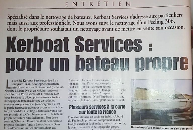 Kerboat Services : pour un bateau propre
