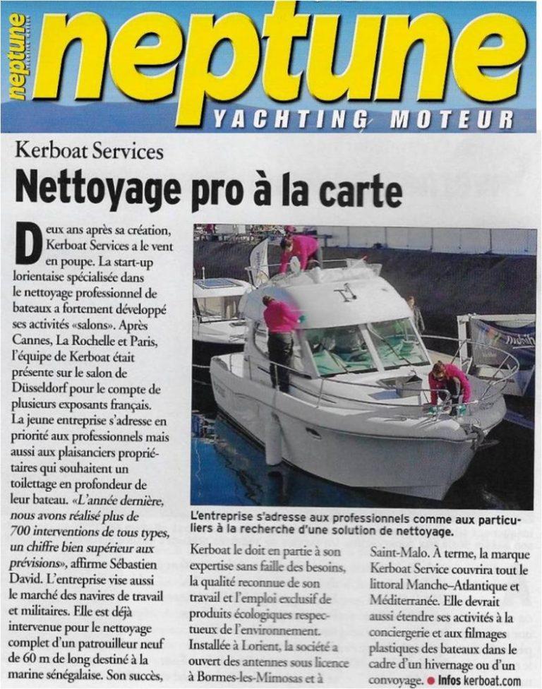 Neptune vante Kerboat Services