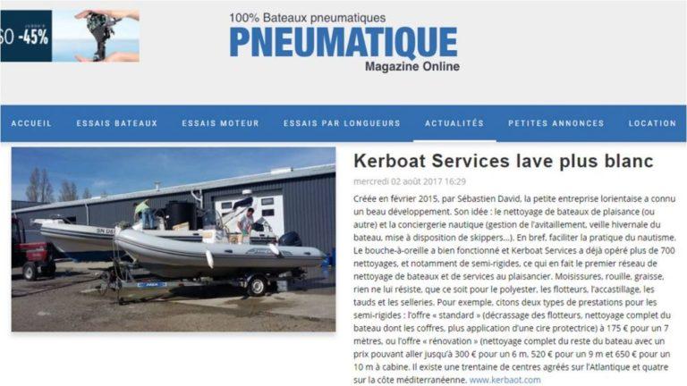 Kerboat Services lave plus blanc
