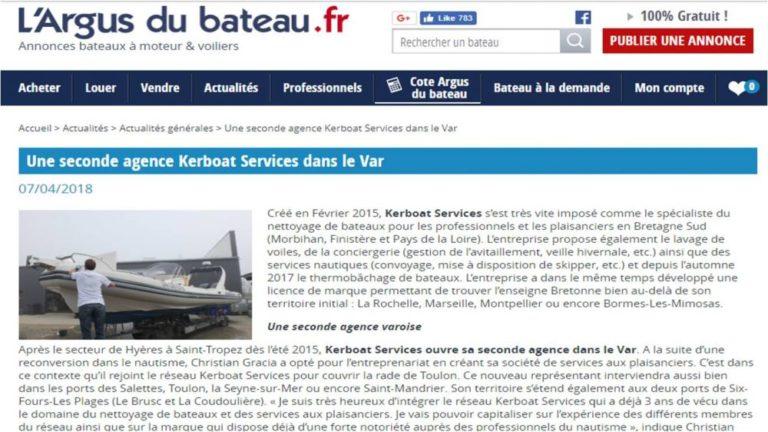 Kerboat Rade de Toulon sur les sites nautiques
