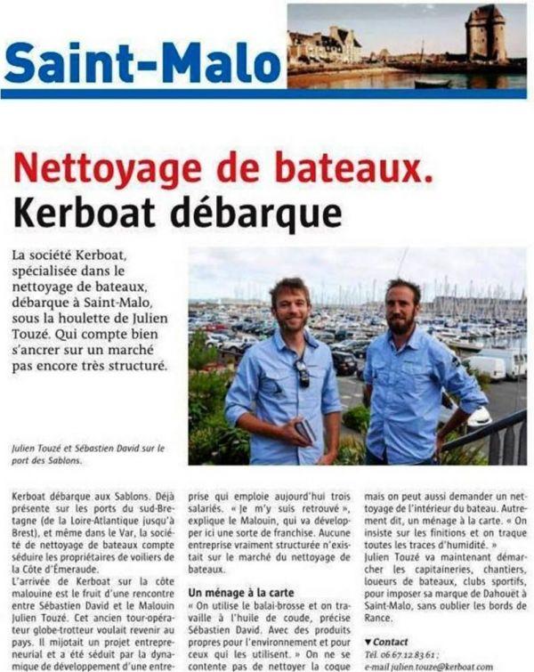 Nettoyage de bateaux - Kerboat débarque !