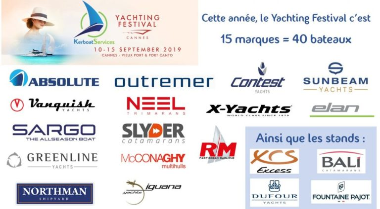 40 bateaux pour Kerboat Services au Cannes Yachting Festival !