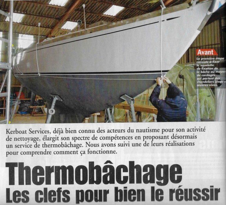Réussir le thermobâchage avec Kerboat Services