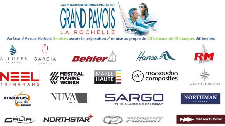 38 bateaux pour Kerboat Services au Grand Pavois