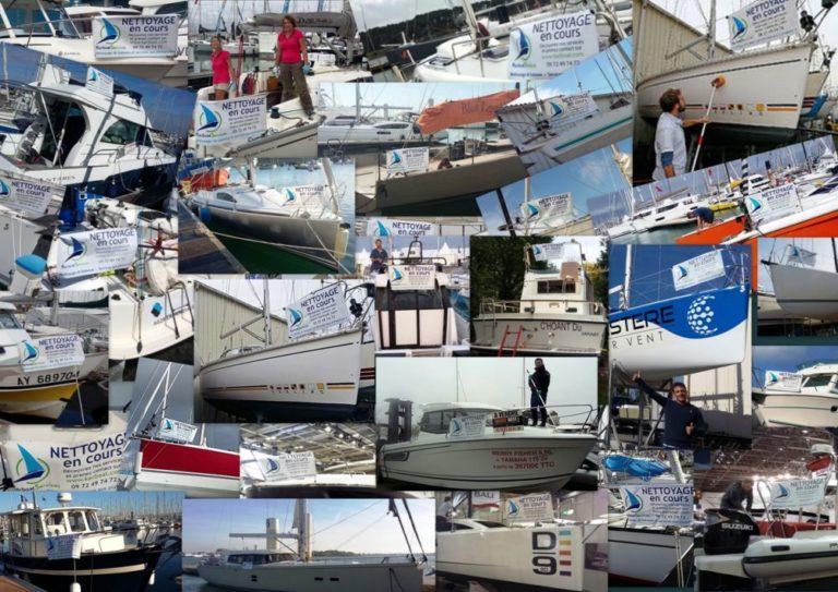 3 ans de Nettoyages en cours avec Kerboat Services !