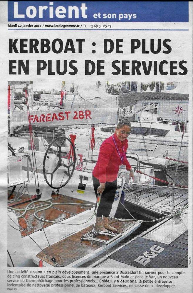 Kerboat : de plus en plus de services