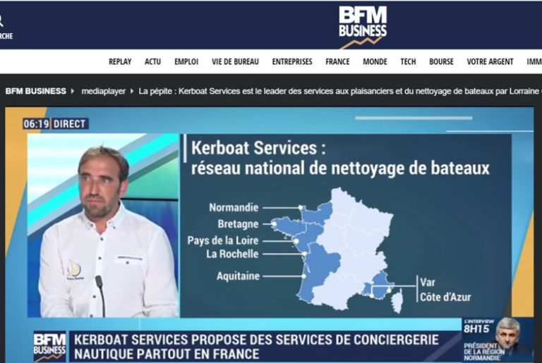 La pépite Kerboat Services selon BFM Business